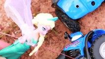 anna toys Frozen ELSA & Anna Ride ATV Quads Vacation Disney Princess Queen Elsa Doll Toys