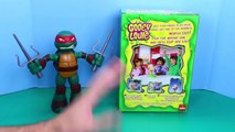 Yucky Boogers! Gooey Louie Sticky Snot Game Play Doh Boogers with a Ninja Turtle by ToysReviewToys
