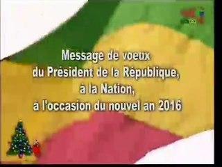 MESSAGE DE VŒUX 2016 du Président Denis SASSOU-N'GUESSO