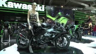 Kawasaki live Eicma 2015 – kawasaki stand