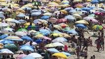 O ano de 2015 se despede com onda de calor no Rio