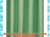 ELEGANT STYLISH SAGE GREEN WAFFLE FULLY LINED PENCIL PLEAT CURTAINS 66 X 90 (PAIR)