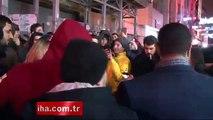 Taksim Taciz 2016 Tacizciler iş başında Ukraynalı Turistin Zor Anları