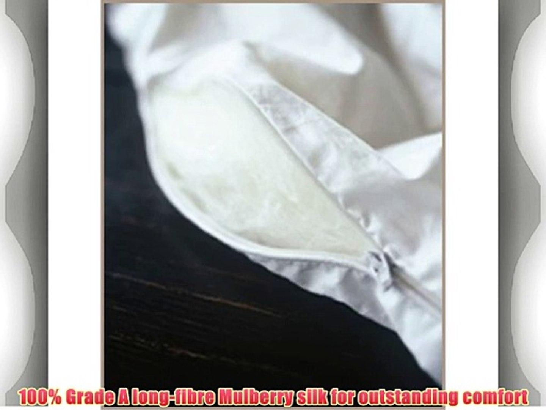 Jasmine Silk Pure Silk Filled Duvet Quilt King 4 tog