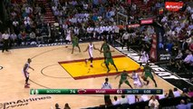 Dwyane Wades Baseline Reverse Dunk | Celtics vs Heat | November 30, 2015 | NBA 2015-16 Season