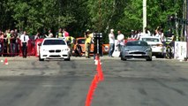 BMW M5 F10 vs BMW M6 F12 vs Aston Martin Vanquish