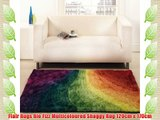 Flair Rugs Rio Fizz Multicoloured Shaggy Rug 120cm x 170cm