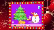 encuentra a Peppa Peppa Pig y su arbol de navidad - Peppa Pig christmas tree find peppa pig
