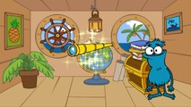 Choocha Funnyboy Clown: Interactive Cartoon Games Find TREASURE on a Pirate Ship!