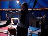 Graine de cirque - Isabelle funambule