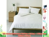Double_____White_____600 Thread Count 100% Egyptian Cotton Sateen Bedding Sets/Duvets Sets/Quilt