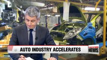 Korea's automobile industry forecast to record highest production output in 4 years