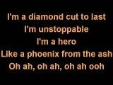 Cassadee Pop I am invincible karaoke lyrics