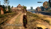 The Witcher 3: Wild Hunt Skellige Undvik Armor Set DLC