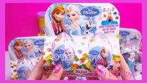 unboxing frozen toys surprise eggs disney frozen kinder surprise egg unboxing toy frozen