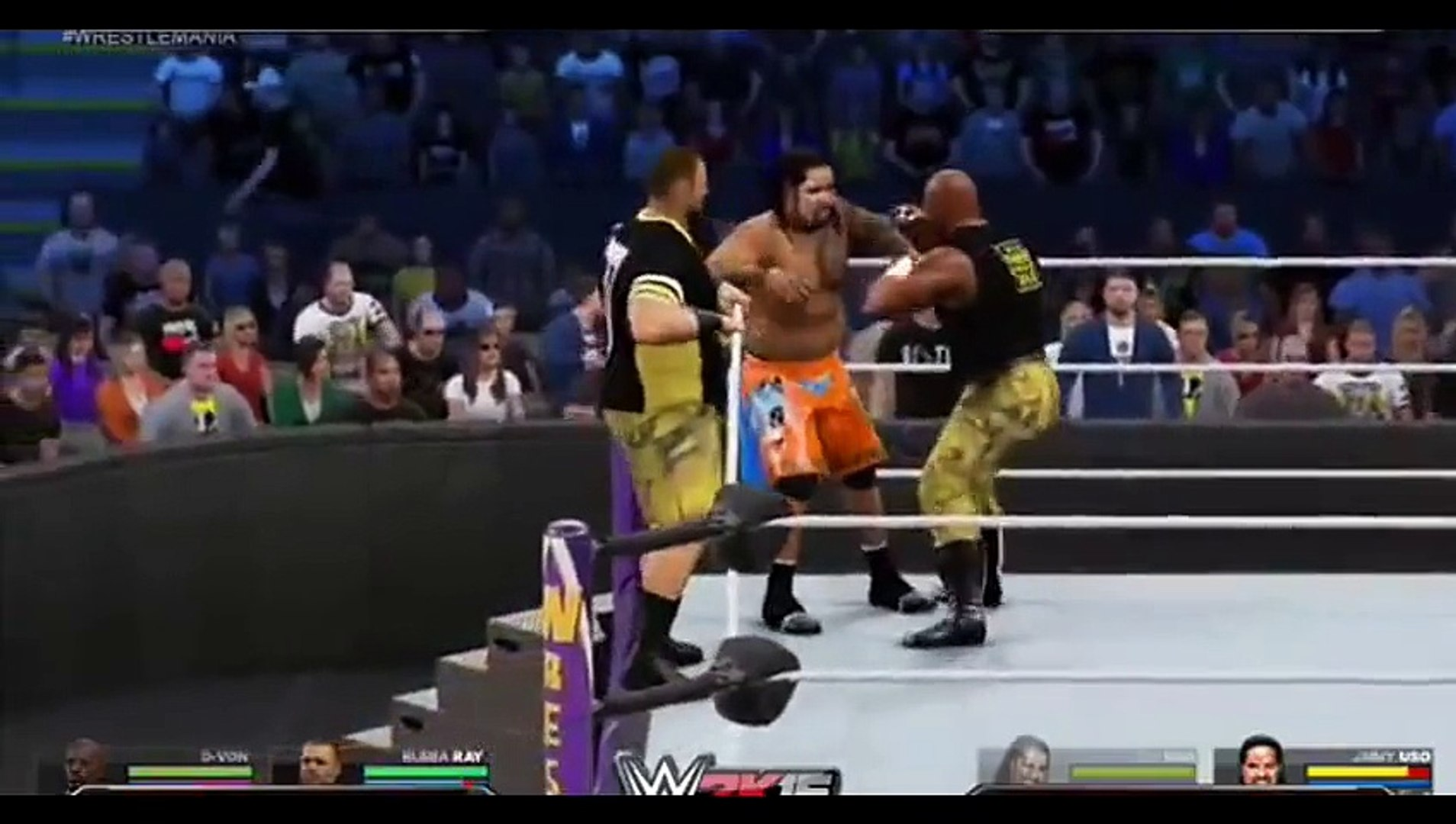 WWE 2K15 - Top 5 Tag Team Maneuvers (WWE 2K15 Countdown)