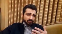 Hamza Ali Abbasi video msg after meeting with MQM supporters who counter him