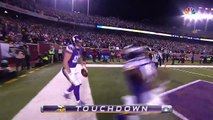 Teddy Bridgewater Throws Perfect TD Pass To Kyle Rudolph | Giants vs. Vikings | NFL