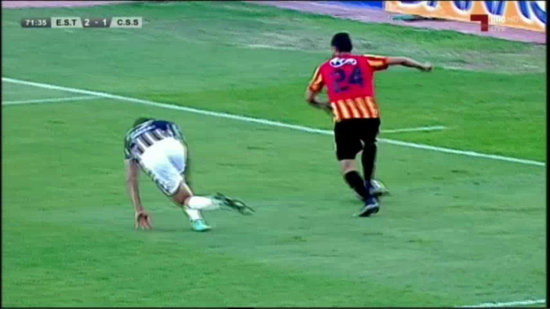 [Ligue1,J12] EST vs CSS - Le magnifique dribble de Iheb Mbarki vs Yassine Meriah [ALL K**** TV &