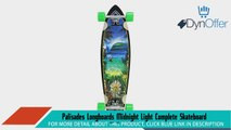 Palisades Longboards Midnight Light Complete Skateboard 95 x 38Inch Longboard Skateboards Sports and Outdoors