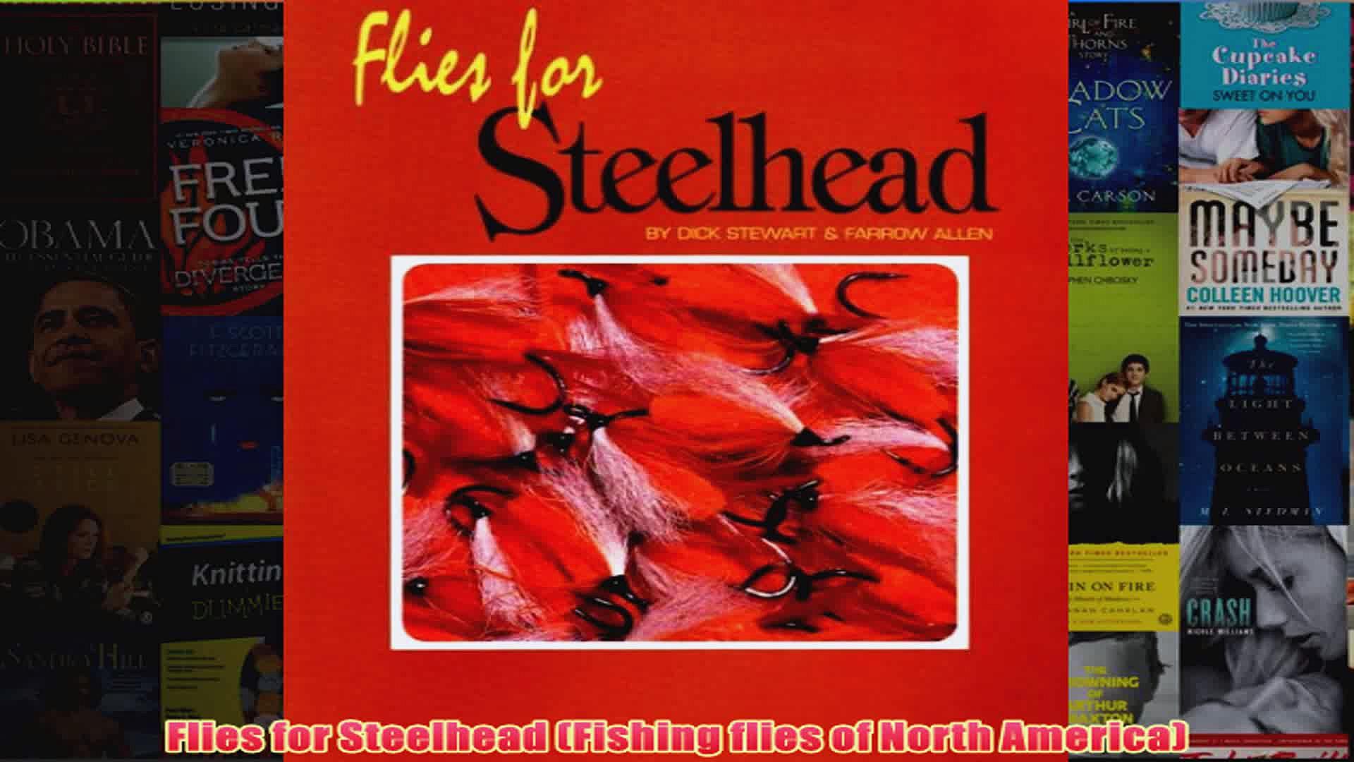 Flies for Steelhead Fishing flies of North America