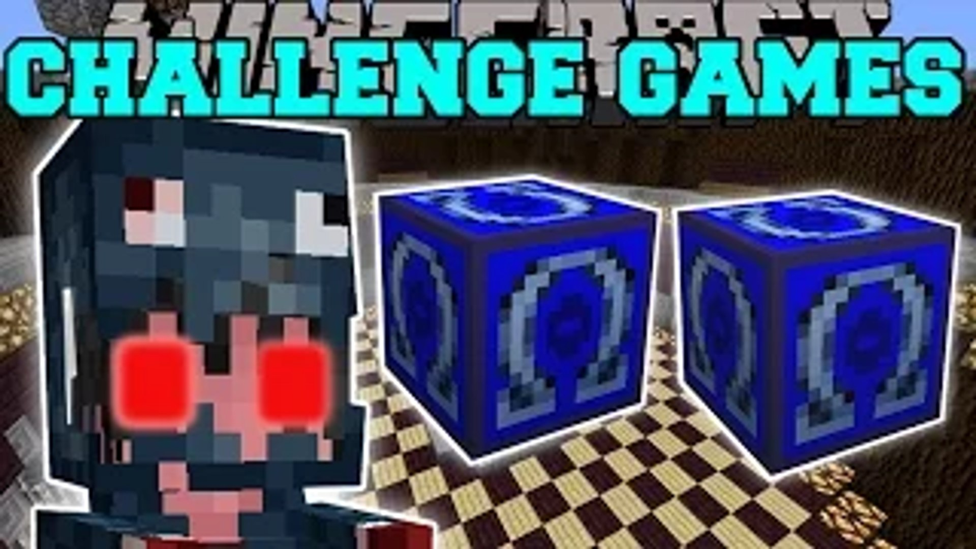 PopularMMOs Minecraft- MUTANT SQUID GIRL - Pat and Jen Lucky Block Mod GamingWIthJen