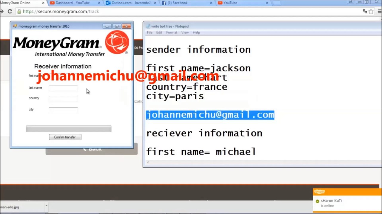 moneygram transfer hack