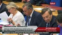 Audition de Mathieu Gallet PDG de Radio France - Les matins du Sénat
