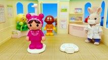 アンパンマンおもちゃアニメ お医者さんごっこ 身体測定 PPCandy Channel Anpanman Toy Anime