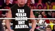 JEFF HARDY RETURNS WWE RAW 2016 CONFRONT BROCK LESNAR!!!