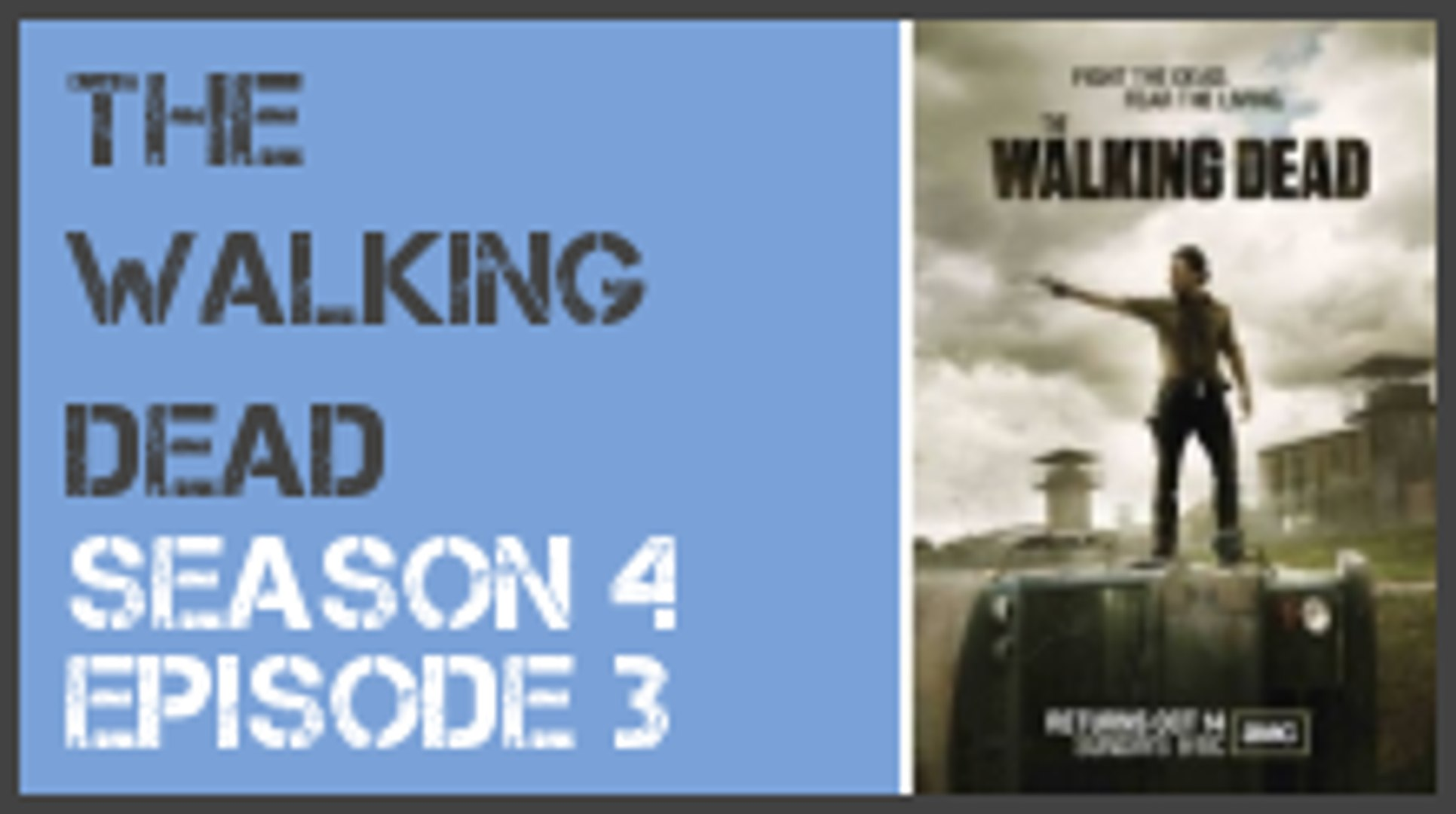 The Walking Dead season 4 episode 3 s4e3