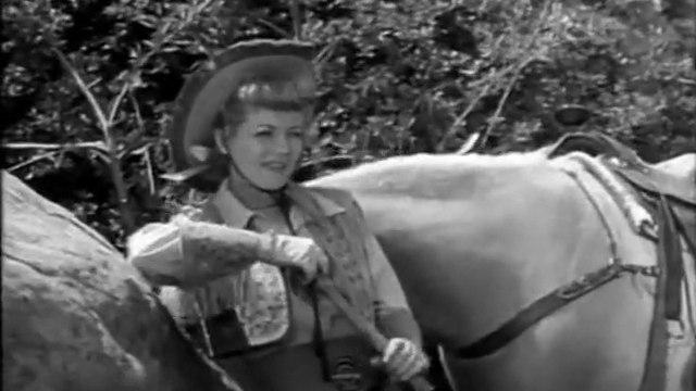 "1954 ANNIE OAKLEY - ""Bull's Eye"" - Pilot episode - Gail Davis"