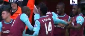 Andy Carroll Amazing Goals | West Ham 2-0 Liverpool 2/1/2016