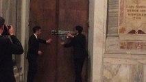 Papa apre la Porta Santa nella Basilica di Santa Maria Maggiore