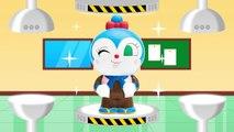 アンパンマンおもちゃアニメ きせかえ遊び10 コキンちゃん編 PPCandy Channel Anpanman Toy Anime