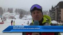 D!CI TV : Risoul : Produire de la neige de culture reste la priorité malgré les récentes chutes de neige