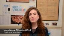 Voeux 2016 - Anne-Sophie PALA-MASSONI, Présidente des Jeunes Radicaux UDI