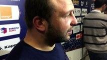 Réaction Arnaud Heguy après FC Grenoble -US Oyonnax