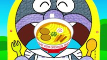 アンパンマンおもちゃアニメ ばいきんまんの食事 いろいろパックンムシャムシャ 大食いバトル PPCandy Channel Anpanman Toy Anime