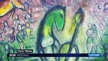 Chagall, l'artiste qui peignait la musique, est en exposition à la Philarmonie de Paris