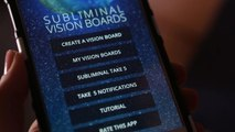 Subliminal Vision Board App – Visualizing and the Law Of Attraction to Manifest your Dreams & Goals