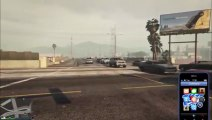 GTAV Gameplay - Spawning Cars