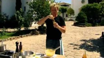 chef ramsay prepares lobster and caviar with crisp potatoes gordon ramsay