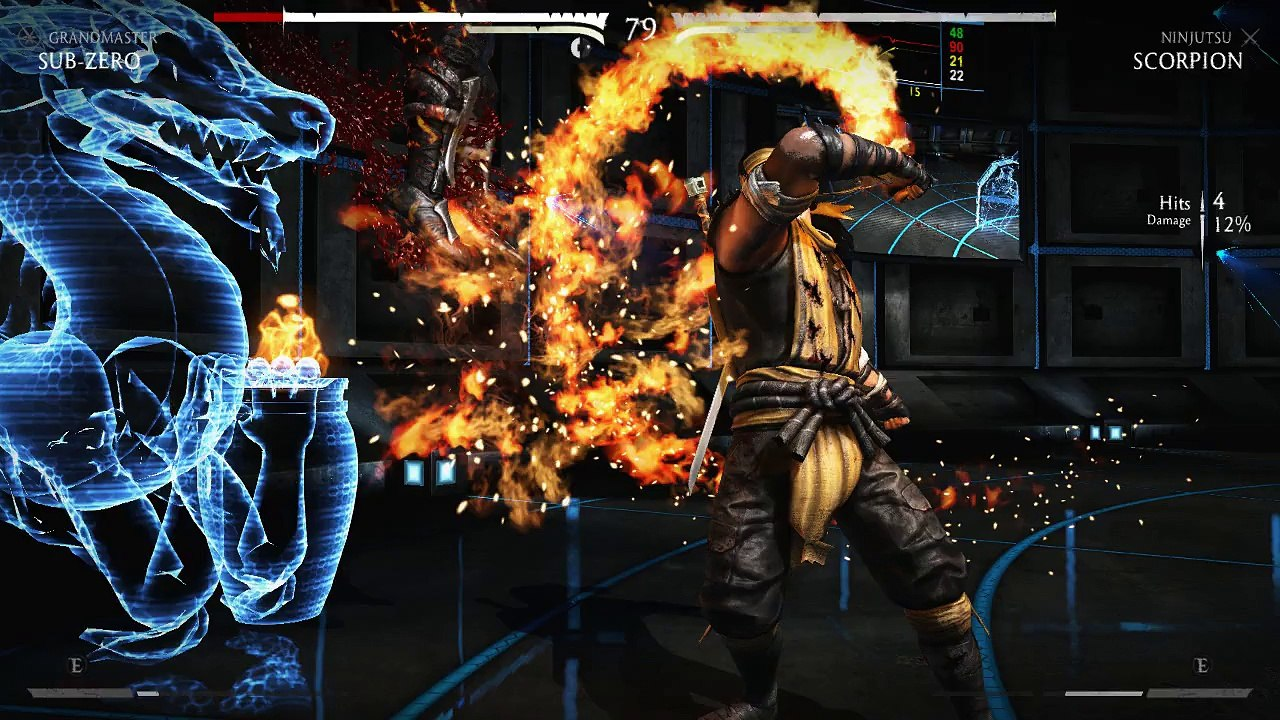 Mortal Kombat X Sub Zero Vs Scorpion Video Dailymotion