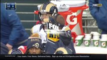 Johnny Hekker Shoves Cliff Avril & Then Cowers in Fear of Seahawks | Rams vs. Seahawks | N