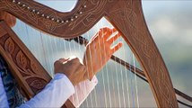 Harp Music Tibetan - Celestial Relaxing 432 hz Strings Solo Playlist for Study, Concentrat
