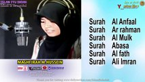 Recitation Of Al Quran By Indonesian Qariah Maghrifah Hussain Surah Al Anfaal Ar Rahman Al Mulk Abasa Al Fath Ali Imran