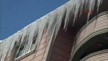 Ağrı Kar Yağışı Durdu, Sibirya Soğukları Vurdu Ardahan Göle- 37.3-