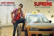 Supreme Movie First Look Teaser - Sai Dharam Tej ,Rashi Khanna - Supreme Telugu Movie