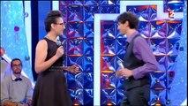 Buzz : Nagui très troublé par le décolleté d'une candidate de N'oubliez pas les paroles !